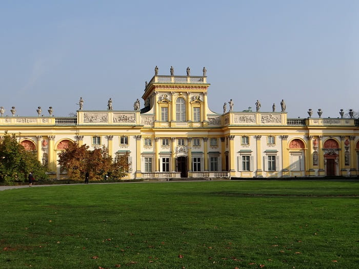 Pałace w Wilanowie