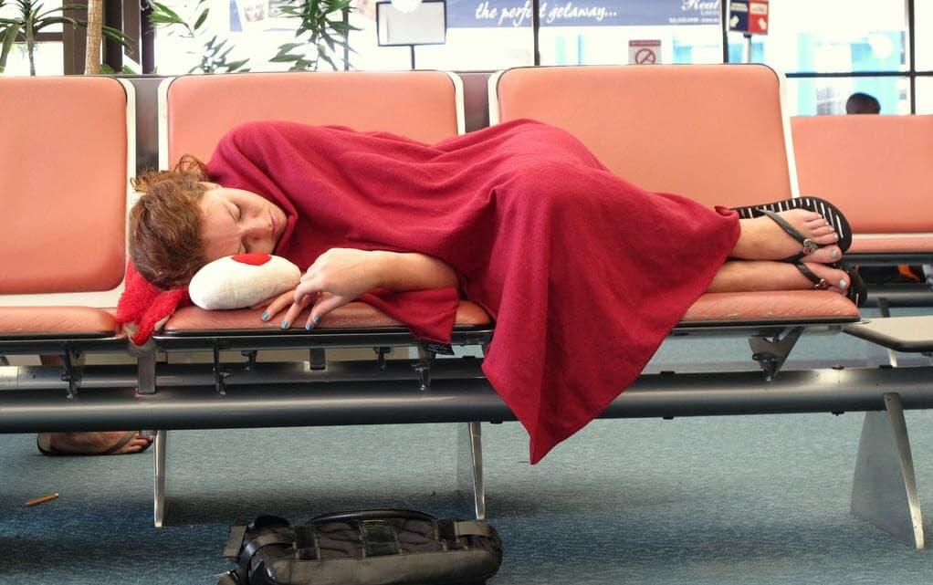 Zmęczony-pasażer